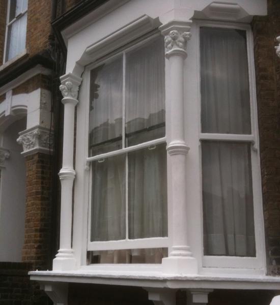Repaired Sash Window