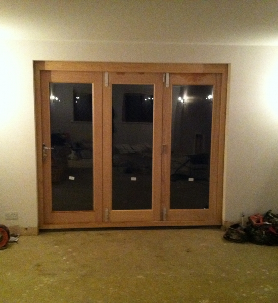 New French doors