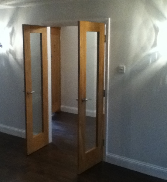 New Internal doors