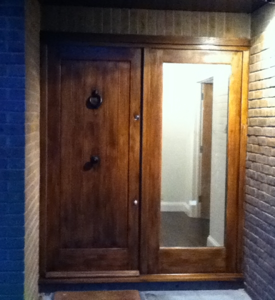 New Front Door and Lighting