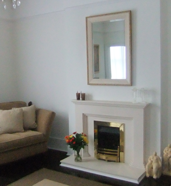 Refurbished Fireplace