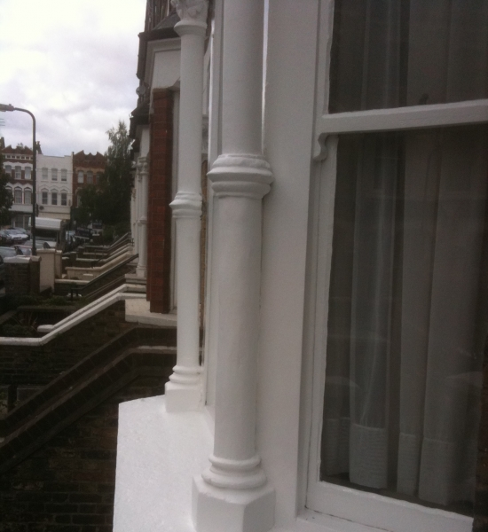 Close up on Sash Window