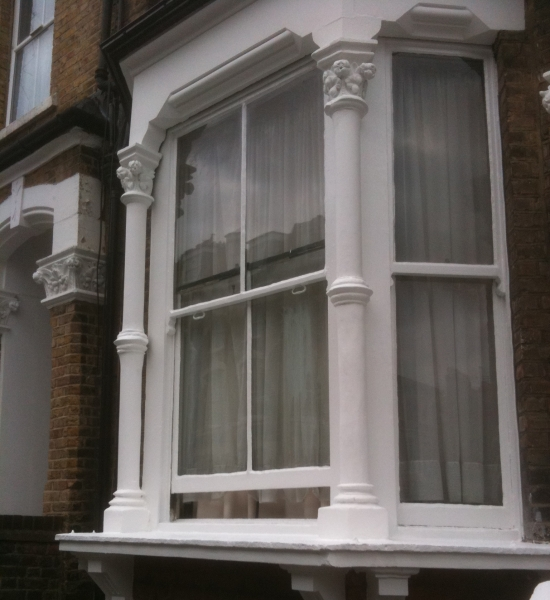 Repaired Sash Window