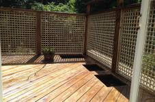 External Decking and Trellis, N8